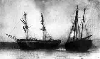 Wreck of george Clark