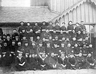 Group photo showing summer caps